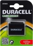 Acumulator Duracell compatibil Canon FS10 Flash Memory Camcorder (BP-808)